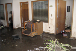 water damage chevy chase md